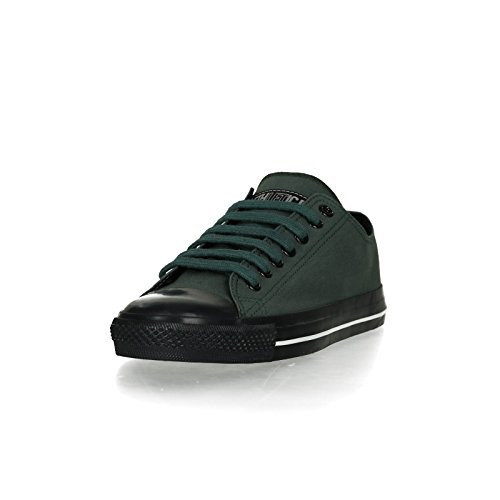 Ethletic Black Cap vegan LoCut Collection 17 - Farbe reseda green / jet black aus Bio-Baumwolle Größe 37 - 2
