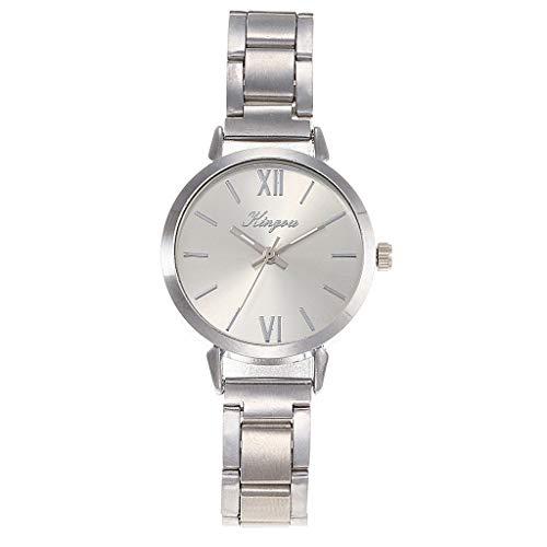 TWISFER Damen Uhren Analog Quarz Edelstahl Analoge Quarz Armbanduhr Uhr für Frauen Mädchen Kleiden Beiläufig Armbanduhr
