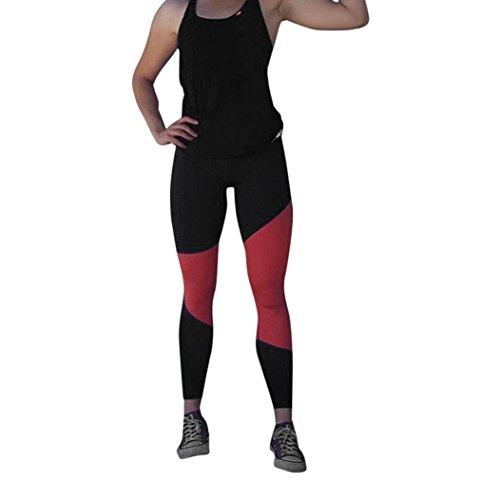 AMUSTER.DAN Frauen Yoga Fitness Hosen Laufsport Leggings Hosen Stretch Hose (L, (Size Kostüme Hexe Plus Womens)