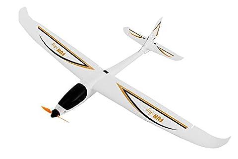 XciteRC 21501000Funsky 4-Channel Remote Control Aeroplane RTF Glider, Orange