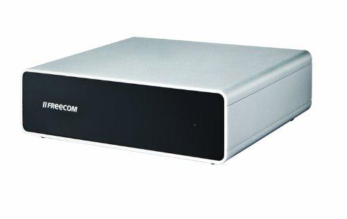 Freecom 1TB externe Festplatte Quattro (8,9 cm (3,5 Zoll), USB 3.0, eS/F8/U3)