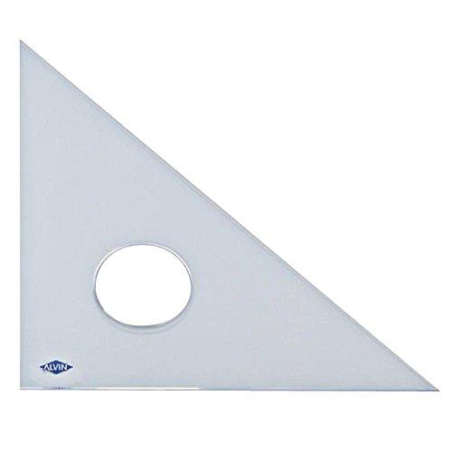 Alvin professionale 45/45/90 Triangolo 6In
