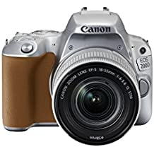 Canon Eos 200D Ef-S 18-55 Mm Digital SLR Camera - Silver