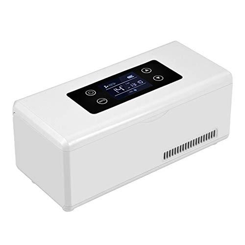 Mini Nevera PortáTil De Insulina Caja Refrigerada Refrigerador EléCtrico para AutomóVil CosméTicos...
