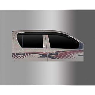 Autoclover Toyota Hilux 2016+ Windabweiser-Set (4Stück) (geräuchert)