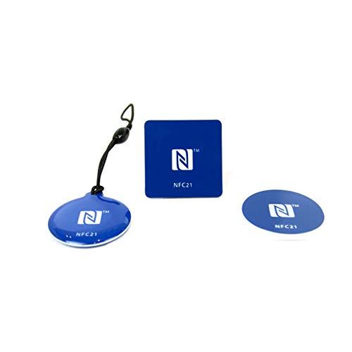 NFC Starter Kit, der perfekte Einstieg in die NFC Welt, kompatibel mit Allen NFC EndgerŠten, Starter Kit S