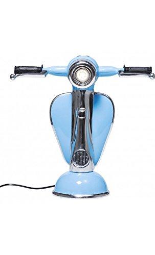 Kare design - Lampe à poser Vespa bleu ciel à LED Scooter