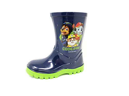Nickelodeon Licensed Paw Patrol Childrens Kids Wellington Boots Rain Wellies Boys Girls Mid Calf Snow Boots