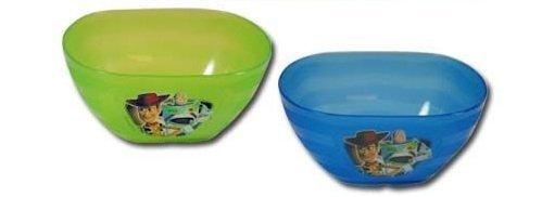 4pk Disney Toy Story 3 Green & Blue Bowls by Toy Story - 4k Toy Story