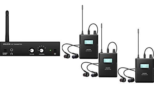 ANLEON S2 Sistema in-ear monitorización IEM 1 transmisor