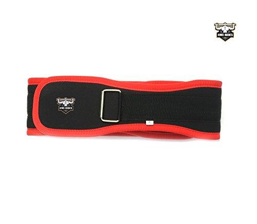 Hard Bodies Padded Gym Belt