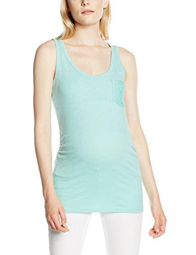 Mamalicious Mlnew Sica Jersey Tank Top, Débardeur-Maternité Femme Turquoise (Aqua Haze)