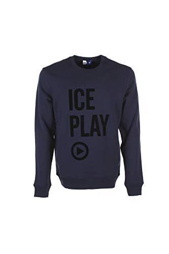 Preisvergleich Produktbild ICE Felpa Uomo S Blu E051 P402 Autunno Inverno 2018 / 19
