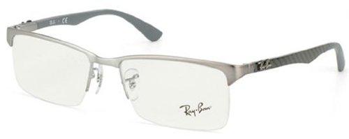 ray-ban-optical-mens-rx8411-matte-gunmetal-gunmetal-frame-metal-eyeglasses-54mm