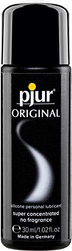 pjur ORIGINAL - Premium Silikon-Gleitgel - lange Gleitfähigkeit ohne zu kleben - sehr ergiebig und für Kondome geeignet - 1er Pack (1 x 30 ml)