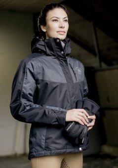 Mountain Horse Damen Reitjacke Amber, Navy, XL