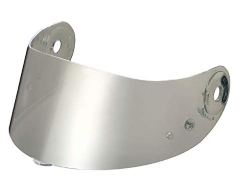 Nolan Visiera per casco N 87, specchiata e colorata, color argento