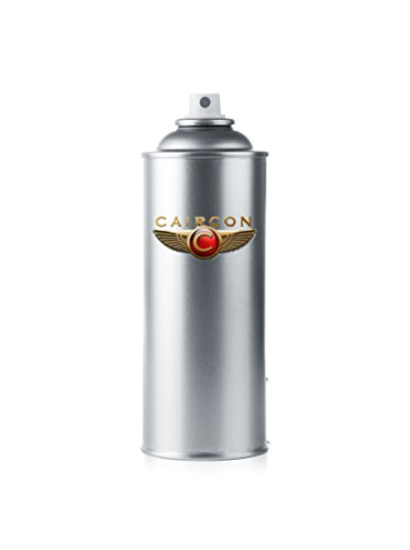 CAIRCON 400ml Kunststoff-Lack-Spray SCHWARZ Spezial-Lack für alle Kunststoffe Stoßstangen Spiegelgehäuse Zierleisten Smart Spot Repair Strukturlack