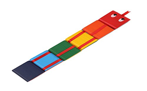 VWH 10 Stück / Set russischen klassischen Holzspielzeug bunte Klappe Brettspiel Spielzeug Ausbildung Übung Hand-Auge-Koordination (Hand-auge-koordination Spielzeug)
