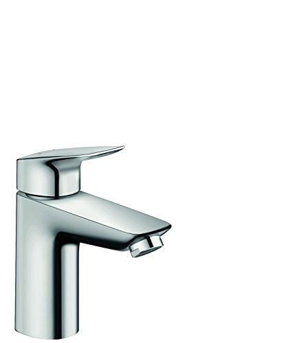 Hansgrohe - Einhebel-Waschtischarmatur, Zugstangen-Ablaufgarnitur, Chrom, Serie Logis 100