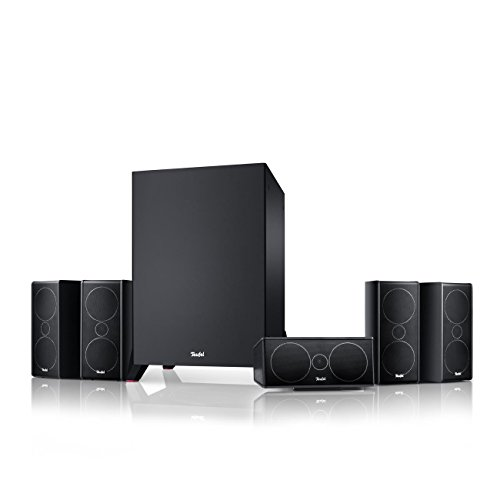 "Teufel Consono 35 Mk3 ""5.1-Set"" Schwarz Film Subwoofer Lautsprecher Movie Musik Raumklang Sound Heimkino DTS HD Komplettanlagen 5.1 Soundanlage"