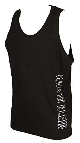 Calvin Klein KM0KM00336 Jersey Tank T Shirt UND Tops Herren Black L -