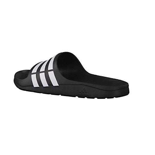 Adidas Performanceduramo Slide - Zapatos De Playa Y Piscina Para Hombres Negro (negro / Blanco / Negro)