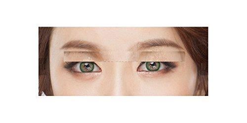 Naty, lentillas de color sin corrección, fantasía, anuales 1año gris rosa verde azul marrón morado., green-naty Btype