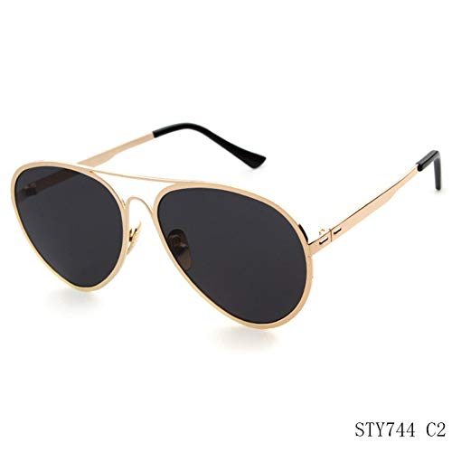 Taiyangcheng Cat Eye Metallrahmen Sonnenbrille Frauen Zeigen Party Sonnenbrille Cat Eyes Brille,A4