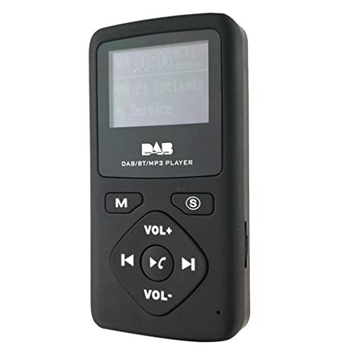 DAB-P7 Tasche Bluetooth Funkempfänger Tragbares DAB FM LCD Display Digital Radio-MP3-Player