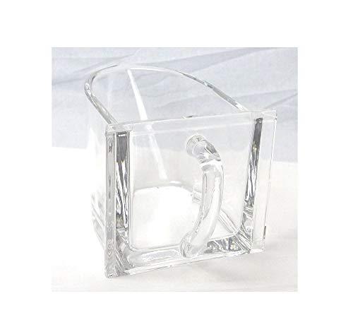 Küchenschütten Glasschütten Keramikschütten - 0,75 Ltr Farbe klar2