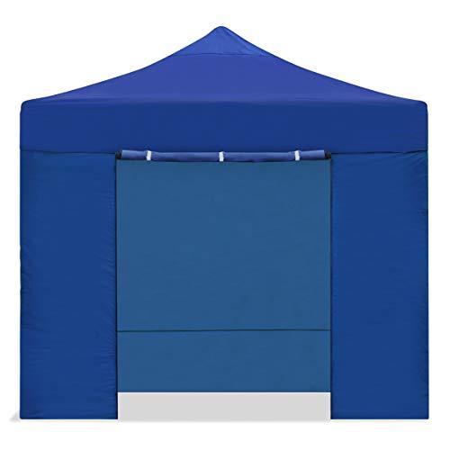 Mc Haus CARPLE-3X3 Faltpavillon, 3 x 3 m, faltbar, wasserdicht, Blau