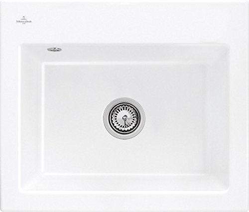 Preisvergleich Produktbild Villeroy & Boch Subway 60 S Flat Weiß (alpin) Keramik-Spüle Flächenbündig Küche