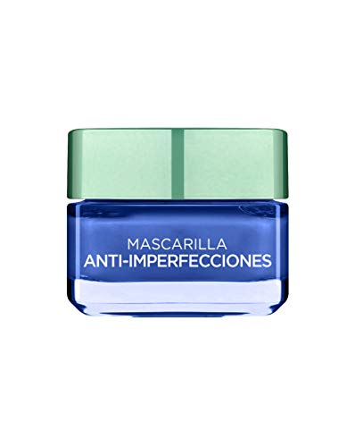 htsmaske mit reiner Tonerde Anti-Unvollkommenheiten blau ()
