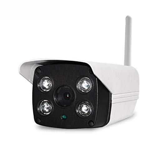 ERSD Handy Remote HD Überwachungskamera Wireless WiFi Kamera Outdoor Überwachungskamera Überwachungskameras 2-Wege Audio Surveillance Kits Heimkamera (Farbe : White) Audio Surveillance Kit