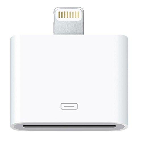 Originale Phone Star 8 pin a 30 pin adattatore senza audio e trasmissione video adatto per iPhone 5s, 5c, 5, iPod Touch 5G in bianco