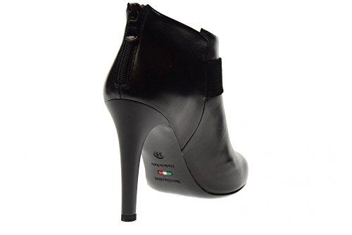 NERO GIARDINI Scarpe Donna Stivaletti con Tacco A719685DE/100 Nero
