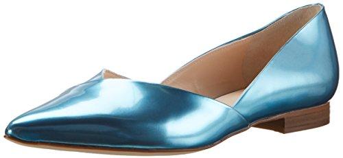 31Q%2BhnDEVDL - Högl Damen 3-10 2014 3300 Geschlossene Ballerinas, Blau (azure3300), 38 EU