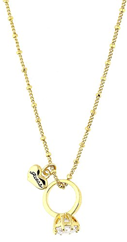 Guess Damen Halskette Gold UBN81032 (Guess Halskette Damen Gold)