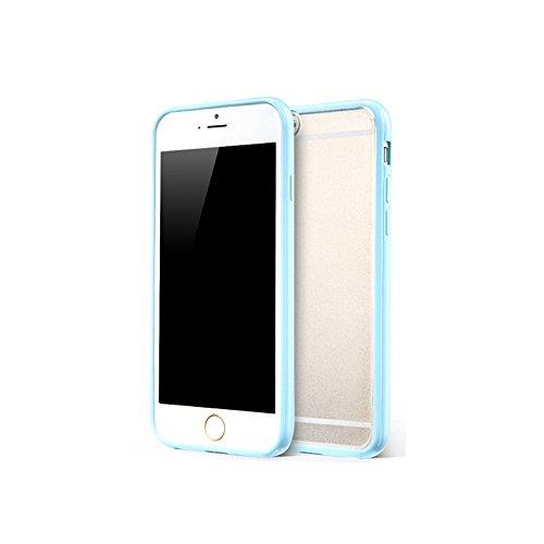 Bumper en silicone TPU avec Back Cover Protection de zhink Arts pour bleu