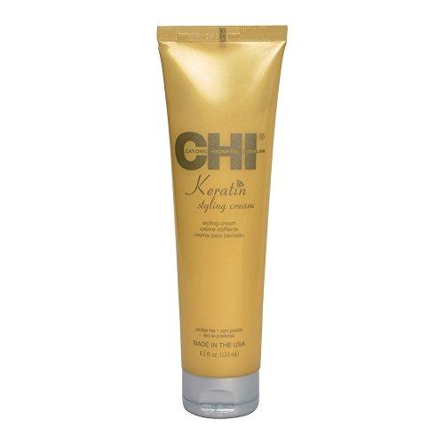 Chi Haarpflege Keratin Styling Cream 133 ml