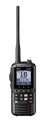 Standard Horizon HX890E VHF Handheld (Schwarz)