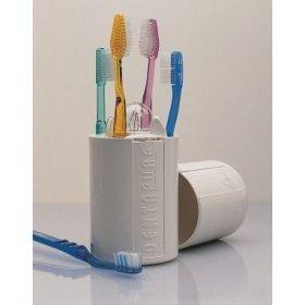 Zahnbürstenreiniger Emjoy Dentapure Bürstenreiniger UV mit Wandhalterung