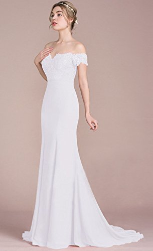 b4ab9d4b2 ANNA QUEEN De las mujeres Vestido de novia