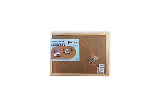 Mktape MK284960 - Tablero corcho marco madera, 30