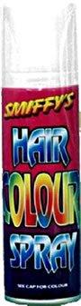 Smiffy's 052W - Haarfarbe Spray, 125 ml, weiß