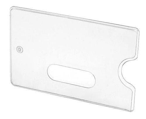 Doppelpack Kartentresor TRANSPARENT - Schutzhülle für Bankkarte oder vieles mehr - Hülle für ec-Karte - 2 Stück
