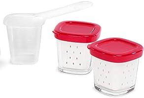 SEB Lot de 6 Pots pour yaourtière