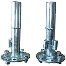 Bricoferr PT00323 - Eje de desbloqueo para motoazada (32 mm, extensible)