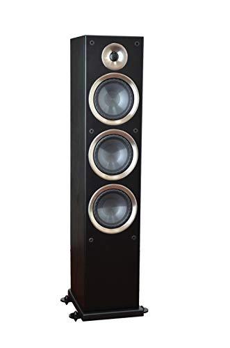"Taga Harmony Azure F-100 V.2 6.5"" Woofer 150W RMS 3-Way Floor-Standing Speaker - Black (Each, Single Unit)"